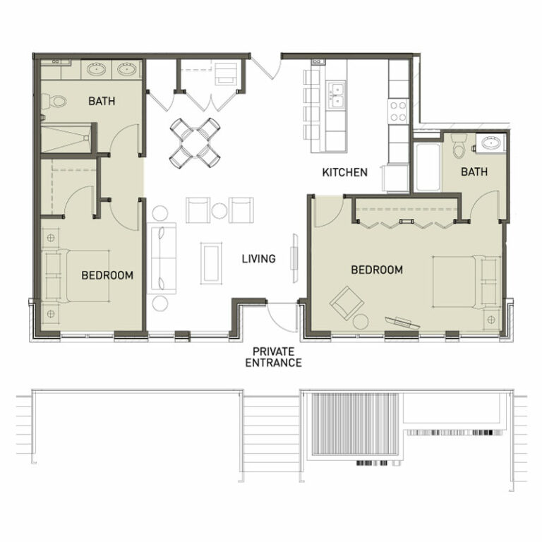 Big 2 Bedroom Apt