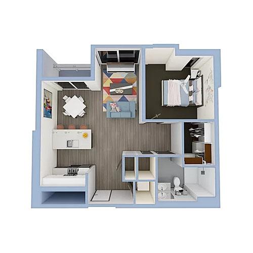 A6a-1bedroom-800x