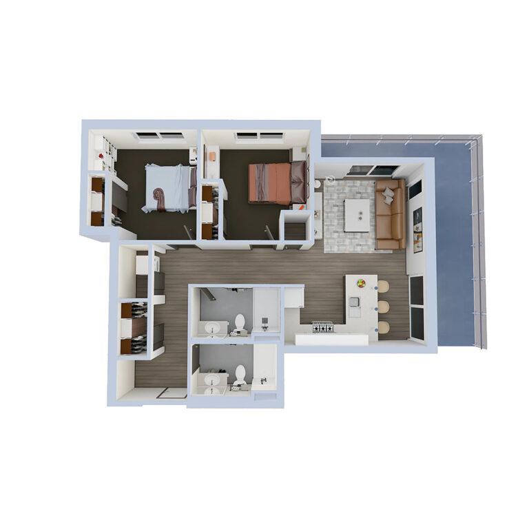 B2a-2bedroom-1024x