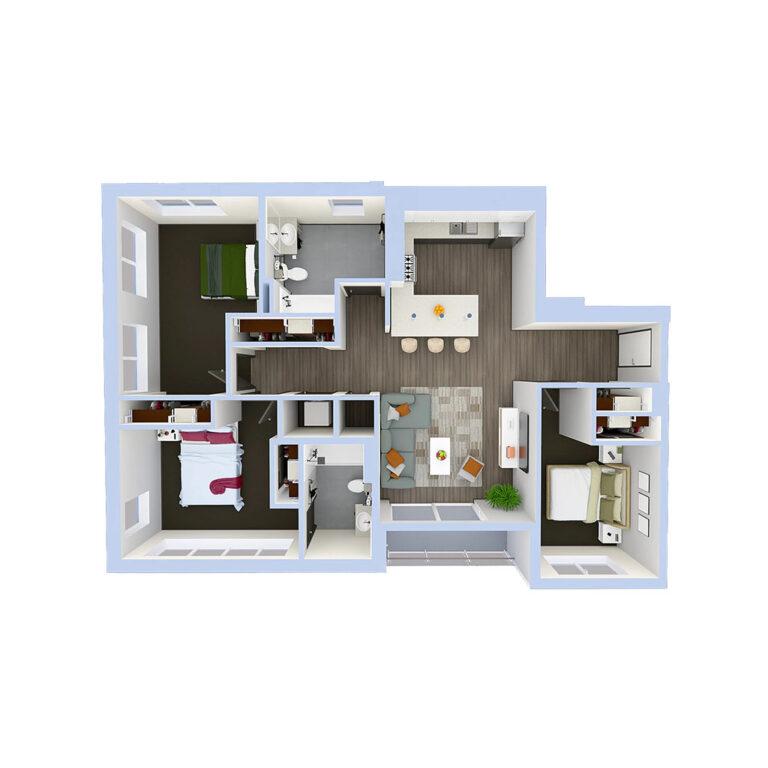 C2a-3bedroom-1024x