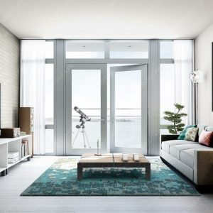 Furnished Living Room and Door to Beautiful View