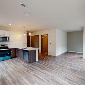 Huge Open Space Living Room Kitchen