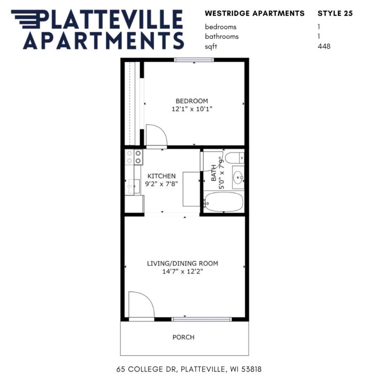 Westridge Apartments - Style 25